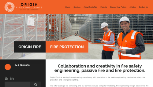 Origin Fire Home Page