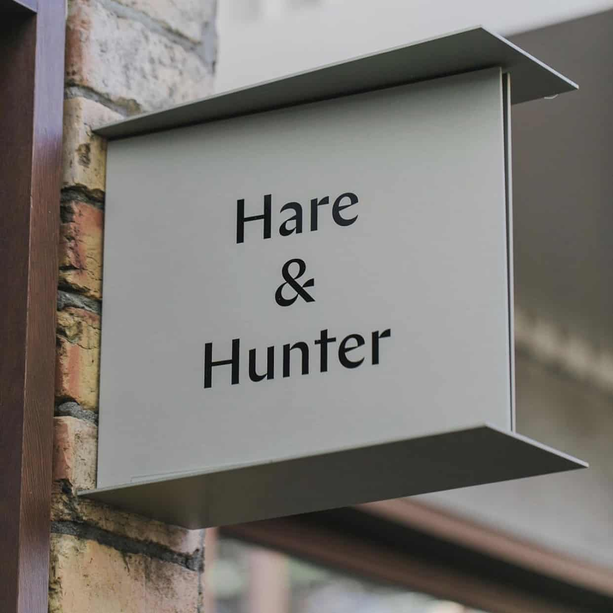 Hare & Hunter Sign   Energise Marketing